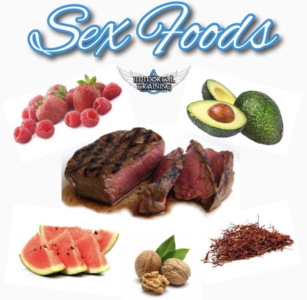 Foods that improve sex