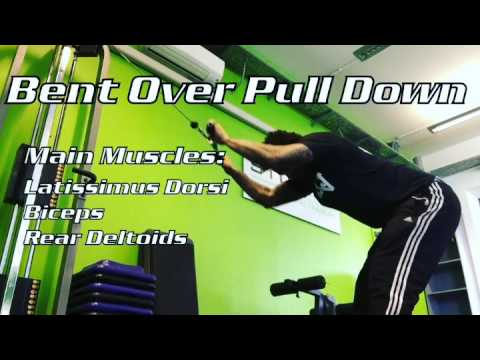 Bent Over Pull Down