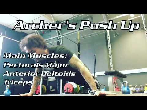 Archer's Push-Up