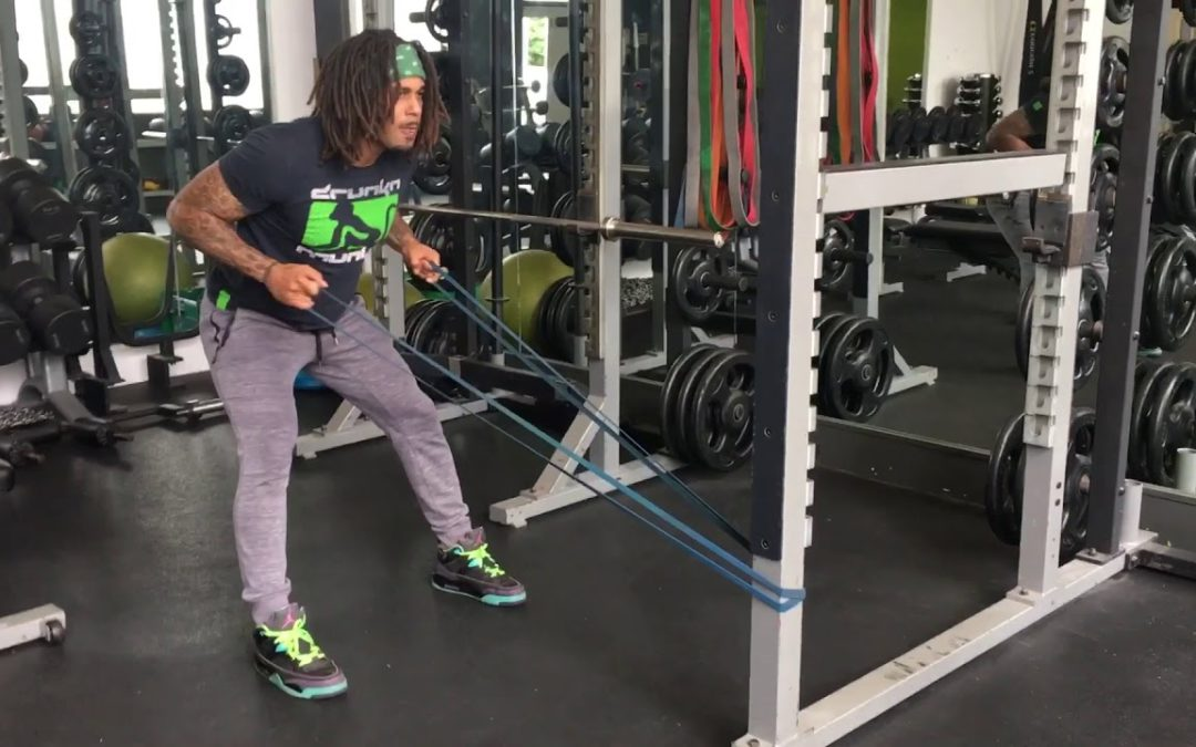Bent Over Resistance Band Row