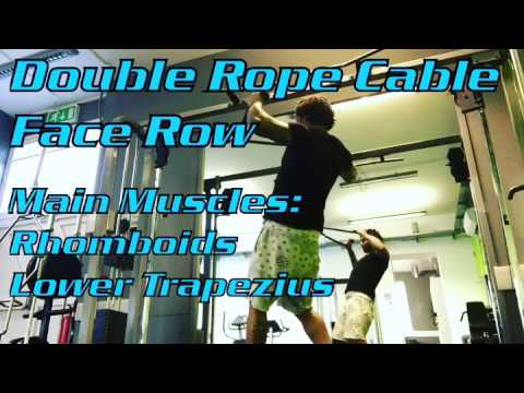 Double Rope Cable Face Pull