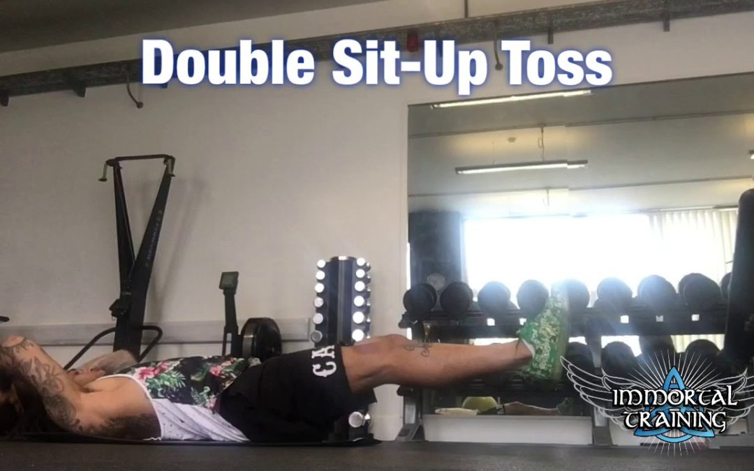 Double Sit-Up Toss