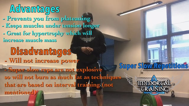 How & Why to Perform Super Slow Reps