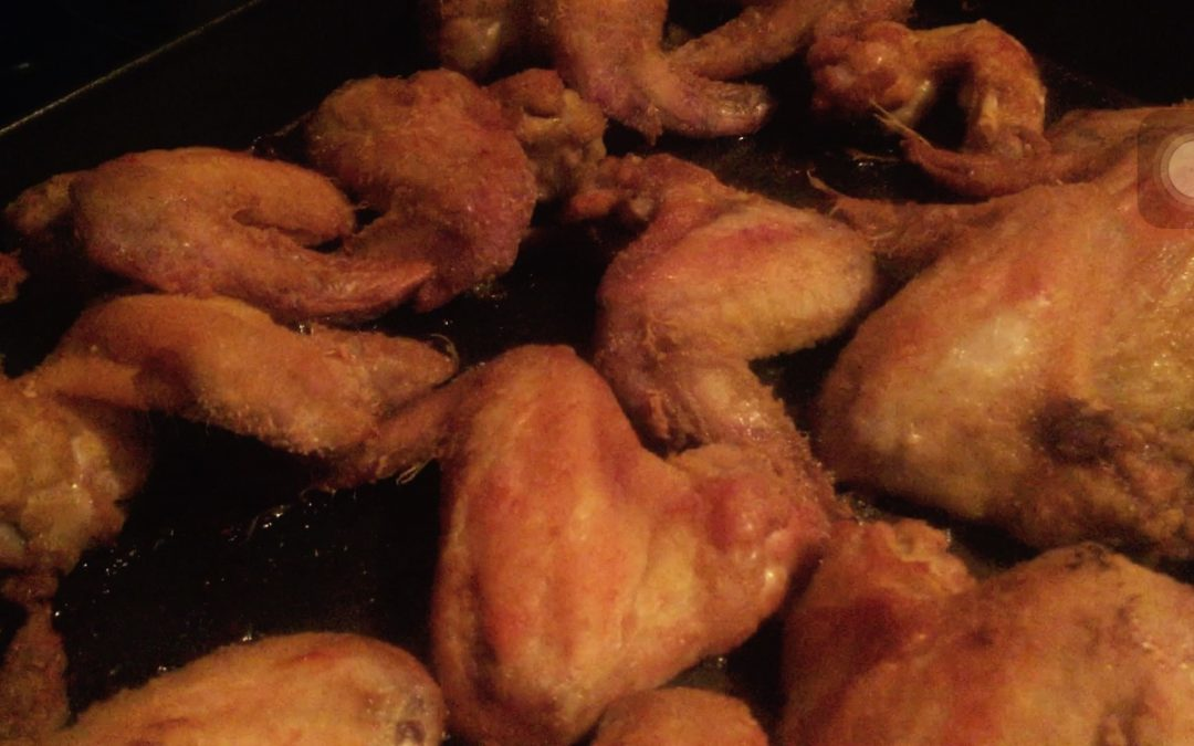Roasted Curry Chicken Wings