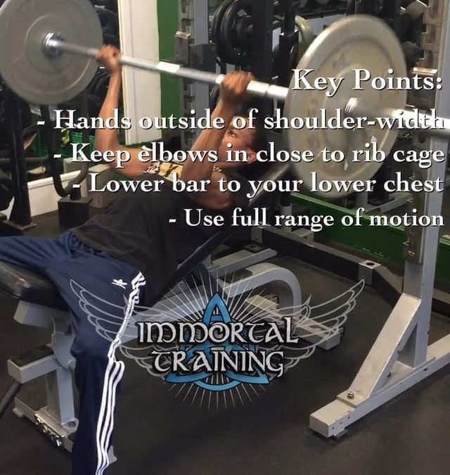 Incline Bench Press with Supine Grip