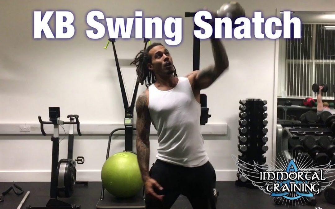 KB Swing Snatch