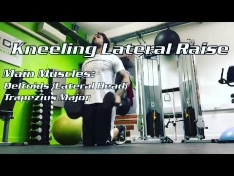 Kneeling Lateral Raise