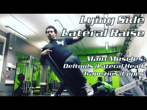 Lying Side Lateral Raise