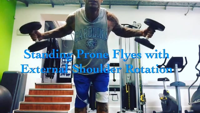 Prone Flyes with External Rotation