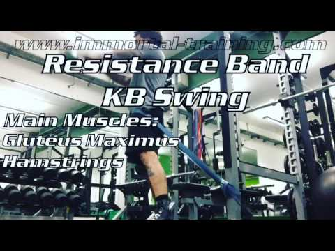 Resistance Band KB Swing