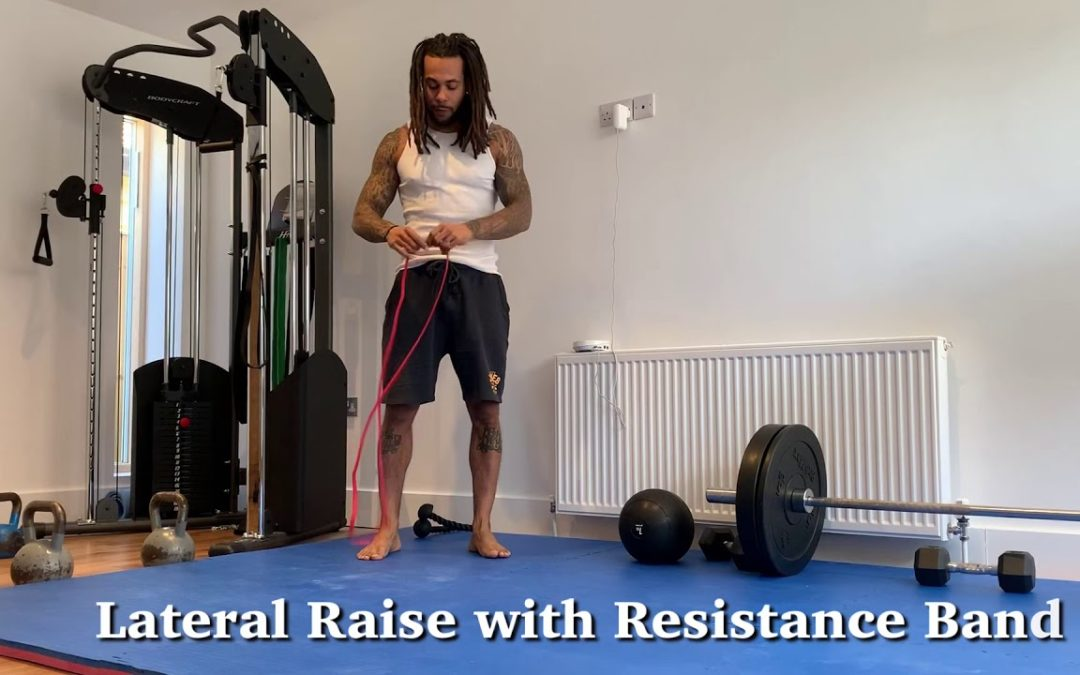 Resistance Band Pull Apart