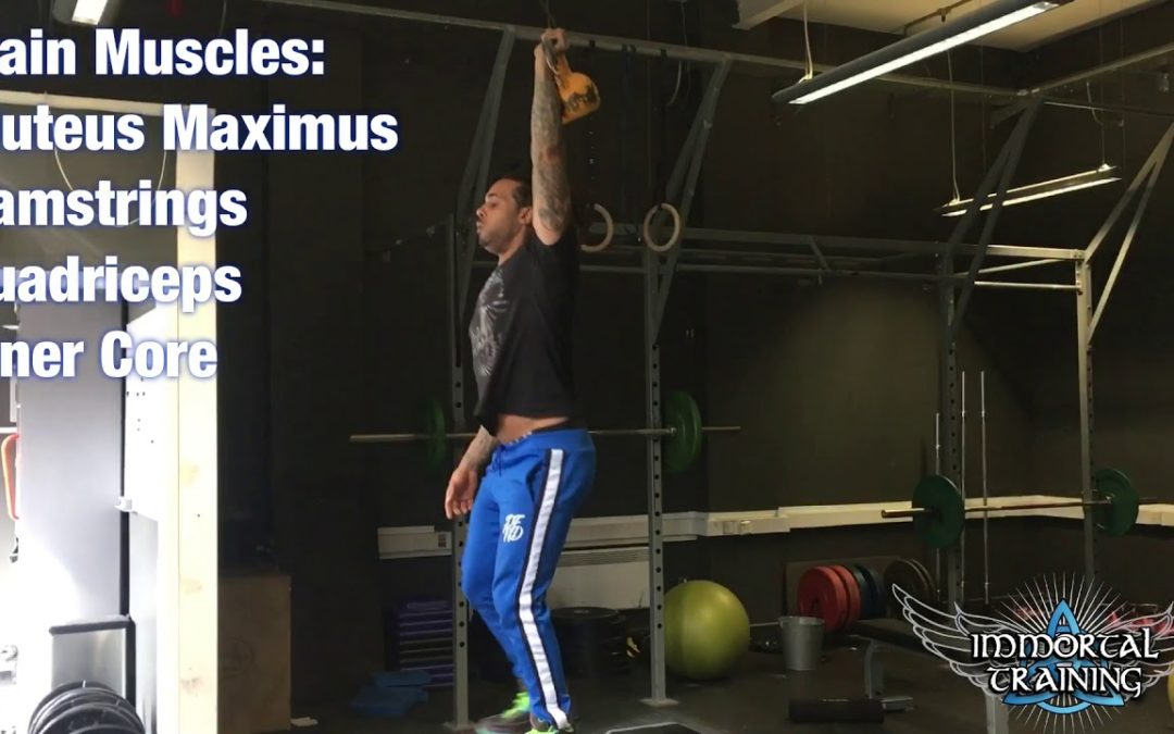 Single Arm Overhead KB Box Step-Up