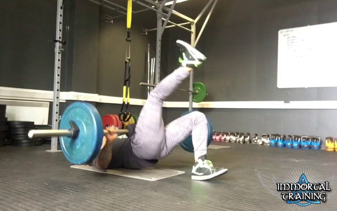Single Leg Hip Thrusters