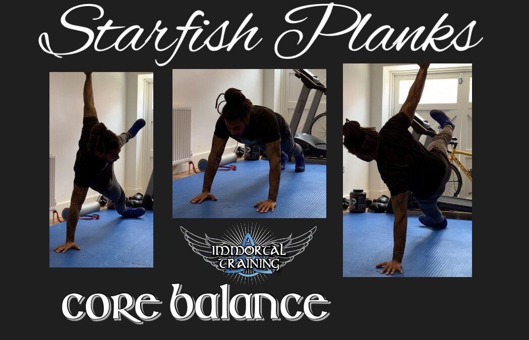 Starfish Plank – Core Balance