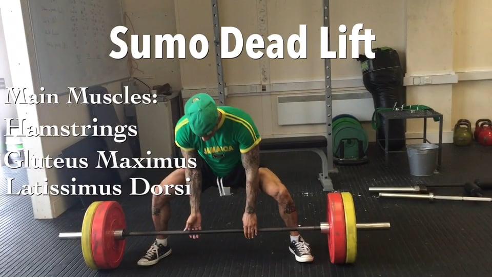 Sumo Dead Lift