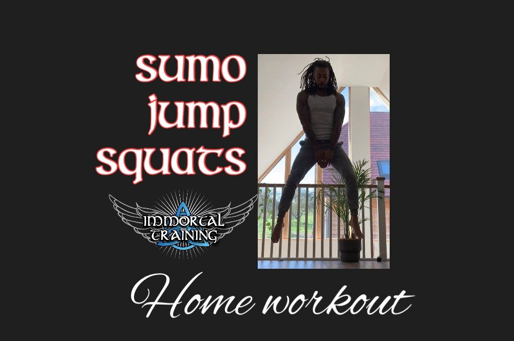 Sumo Jump Squats